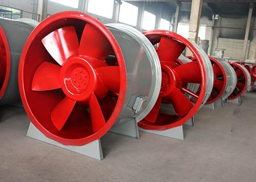 风机生产车间